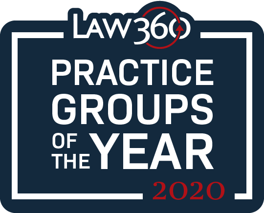Law360 Practice Groups of the Year 2020